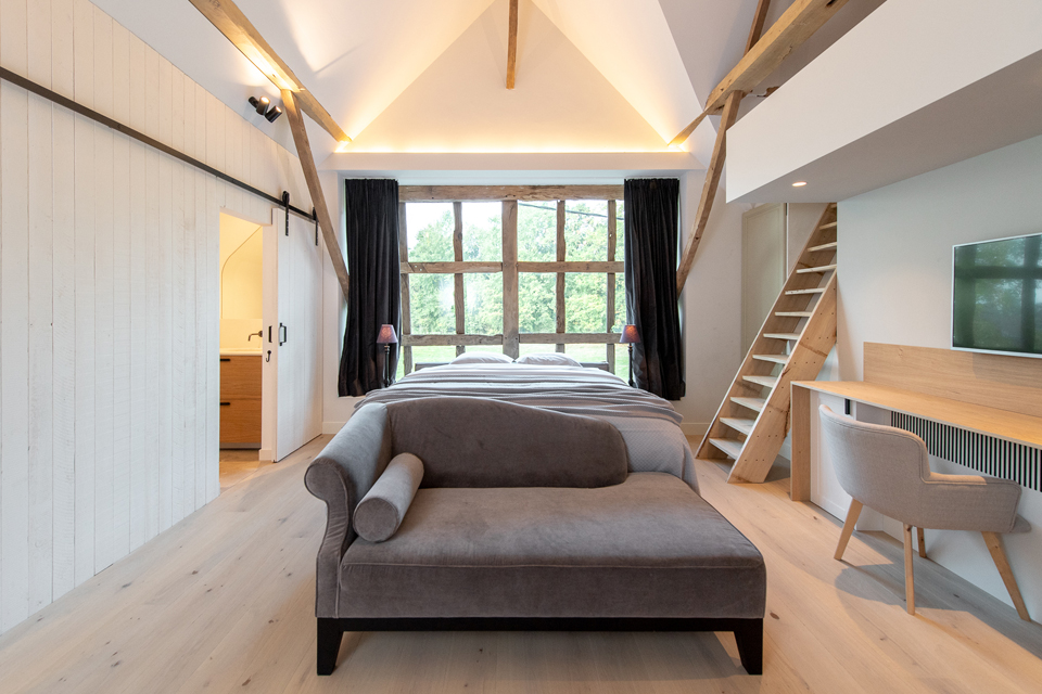 Kamer Théo - B&B - Bed & Breakfast - Winning de Zwaen - Hasselt